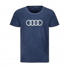 Audi Rings T-särk, meeste, sinine