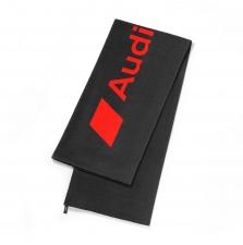 Audi Sport rannalina, tumehall/punane, 80x180cm