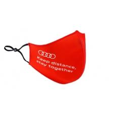 Audi mask, punane/hall
