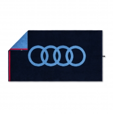 Audi rätik, sinine, 50x100cm