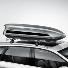 Audi suusa- ja pagasiboks, 300l, plaatina hall