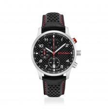 Audi Sport kronograaf, carbon, must/hõbe