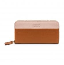 Naiste rahakott, pruun/roosa