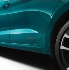 Kleebis Audi rõngad, matt platiniumhall