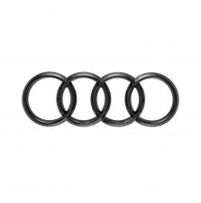 Audi rõngad, ees, must