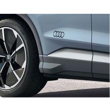Kleebis Audi rõngad, läikiv briljantmust
