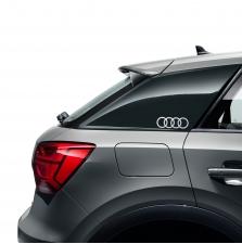 Kleebis Audi rõngad, floretthõbe